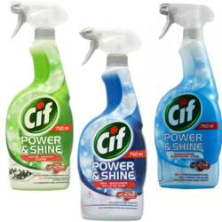 Spray Do Kuchni Cif Power Shine Küche 750 Ml Drogeria